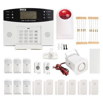 LCD Wireless GSM Auto Dial Home Haus Büro Sicherheit Einbrecher ...