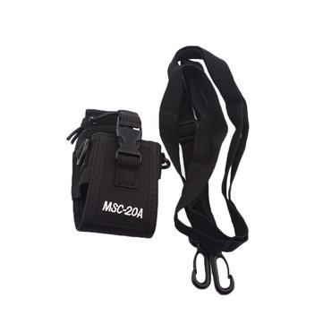 MSC20A Walkie Talkie Case Holder Pouch Bag For BaoFeng UV-5R Intercom Radio Case Holder