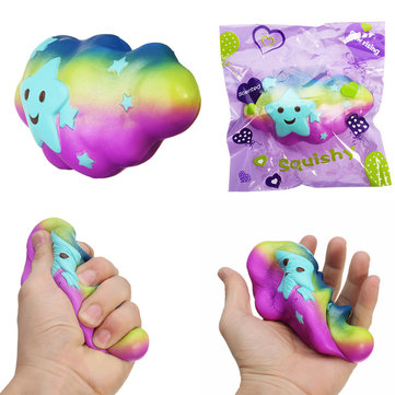 Cloud Squishy Toy 15*4*8CM Slow Rising With Packaging Collection Gift Soft Toy