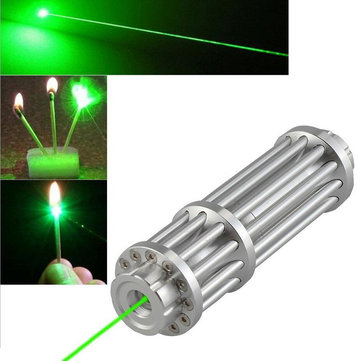 XANES 017 Green Laser Pointer High Power Burning Laser With 16340 Rechargeable Battery & Charger & Eye Protected Glasses