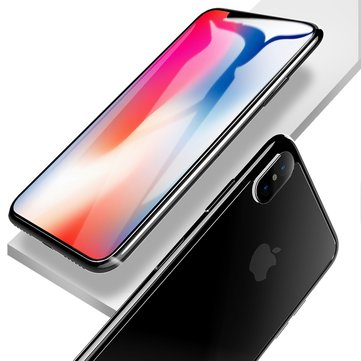 Rock Screen Protector+Back Glass Protector+Back Camera Lens Film For iPhone X