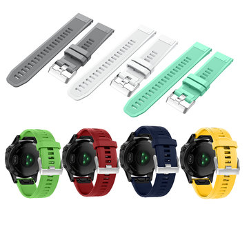 Replacement Silicone Waterproof Quick Fit Watch Strap Wristband for Garmin Fenix 5
