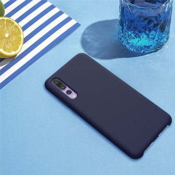 NILLKIN Liquid Silicone Anti-Fingerprint Protective Case For Huawei P20 Pro