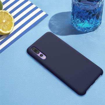 NILLKIN Liquid Silicone Anti-Fingerprint Protective Case For Huawei P20 Pro
