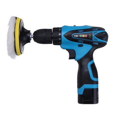 16.8V Lithium Battery Electric Polisher Power Drill Cordless Waxing Polishing Machine