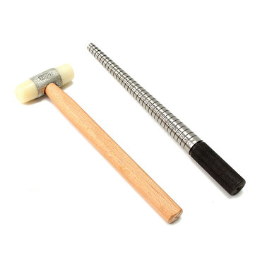 Metal Ring Sizers Ring Body Shaper Stick Mandrel Measuring Hammer Elite Jewelry Making Tool