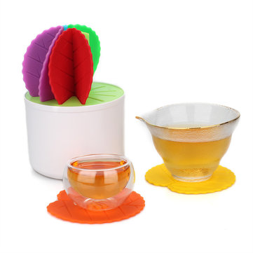 Decorating Cactus Potted Table Coaster For Drinks Non-slip Kitchen Table Place Mats Silicone
