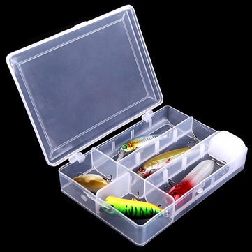 Removable Fishing Tool Bait Tackle Storage Box Transparent Fishing Tackle Box & Removable Fishing Tool Bait Tackle Storage Box Transparent Fishing ...