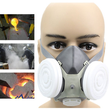 N3800 Anti-dust Facepiece Filter Paint Spraying Cartridge Respirator Gas Mask Clients First Back To Search Resultssecurity & Protection Fire Protection