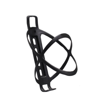 BIKIGHT Carbon Fiber Bottle Cage Bicycle Cage Cycling Water Bottle Holder Black