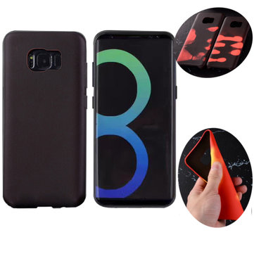 Physical Thermal Sensor Discoloration Soft TPU Anti Knock Back Cover Case for Samsung Galaxy S8