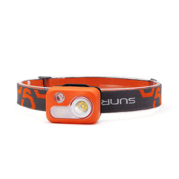 SUNREX Youdo5 215LM Far Near Distance Red Light 6 Modes IPX5 Waterproof Headlamp 3xAAA Battery