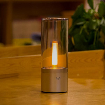 Xiaomi Yeelight YLFW01YL 6.5W Rechargeable Dimmable LED Night Light bluetooth Control Table Lamp