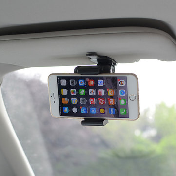 CORHART Car Sun Visor Clip Phone Holder Universal For iPhone Samsung
