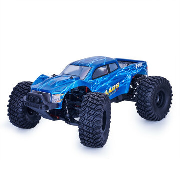HNR MARS Pro H9801 1/10 2.4G 4WD Rc Car 80A ESC Brushless Motor Off Road Monster Truck RTR Toy