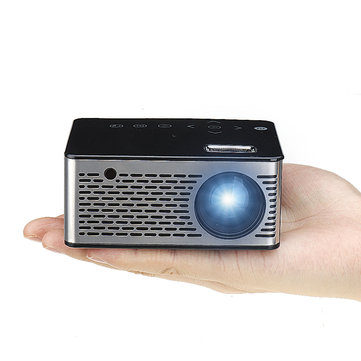 T200 Mini Micro LED Projector HD USB Projector for Home Theater Short Focus Design T200 Transmission Screen