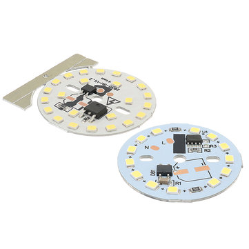 Dimmable 9W 40mm SMD 2835 Aluminum LED PCB Panel Lamp Bead Chip AC220V