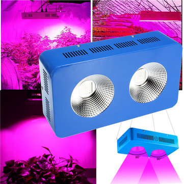 600W Full Spectrum COB LED Grow Light Indoor Hydroponics Plants Lamp Bulbs Panel AC85V-265V