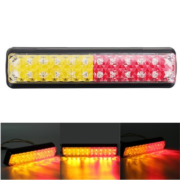 12/24V Motorcycle LED Tail Turn Signal Light Ute Trailer Caravan Truck Boat Stop Indicator
