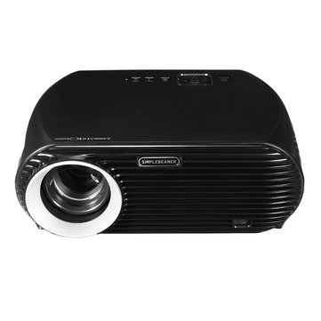 3500 Lumen 1080P Full HD LED Projector Home Theater Cinema Wifi 3D For Android