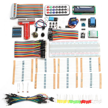 Ultimate Starter Kit DIY Projects Student Education Program For Raspberry Pi 3