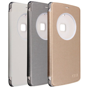 Original Flip PU Leather View Window Case PC Cover For Elephone P8000