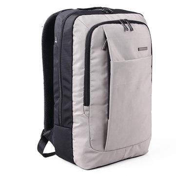 KINGSONS Hommes 15,6 pouces Sac à dos pour ordinateur portable Sac de voyage en plein air Sac d'ordinateur portable