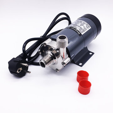 HomeBrew Pump MP- 15R Food Grade 304 Stainless Steel Brewery Beer Home brew 220V Magnetic Drive Water Pump Temperature 140C 1/2