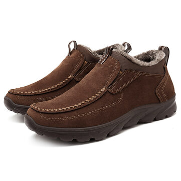 Menico Big Size Warm Stitching Boots