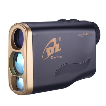 Waterproof 1000m Golf Laser Rangefinder Mini Portable Hunting Binocular Speed Measurement 8 Modes