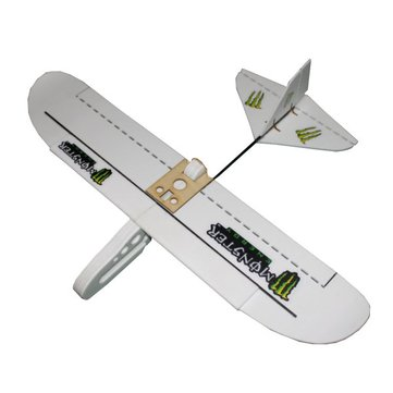 Monster 800mm Wingspan PP Material Laser Cut DIY RC Airplane Flying Wing Glider KIT
