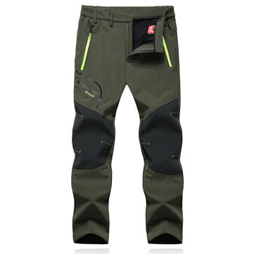Outdoor Waterproof Breathable Soft Shell Pants Mountain Climbing Trouser