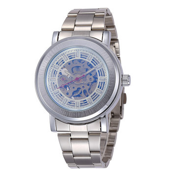 Shenhua Men's Full Automatic Mechanical Business Casual Wrist Watch