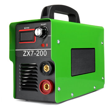 Portable ZX7-200 220V 20A-200A MINI IGBT ARC Welding Machine Semi-Automatic Inverter LCD Soldering Tool