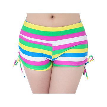DAISSIONI Drawstring Breathable Sport Beach Boyshort