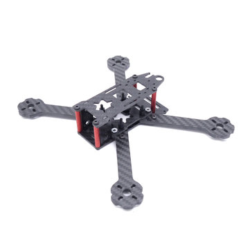 Pan X Type 210mm 5 Inch FPV Racing Frame Kit 4mm Arm Supports RunCam Swift 2 Foxeer HS1177 Camera
