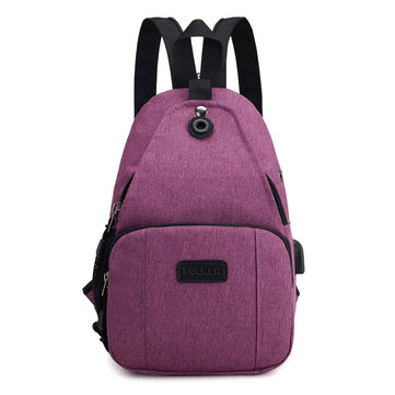 Women Men Multifunction Chest Bag Backpack