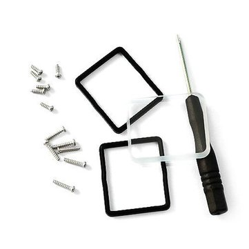 Camera Screwdriver Waterproof Ring Glass Cover Lens Kits with Screw for Gopro Hero 3 Camera Housing