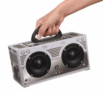 W9 Outdoor Portable HIFI TF Card Aux-in Wireless Bluetooth Speaker with Mic for Mobile Phone Tablet