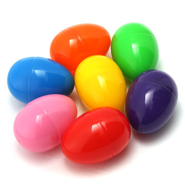 50PCS 42MM Easter Eggs Plastic Party Event Decoration