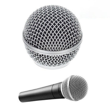 Replacement Vocal Mic Microphone Grille Windscreen for Shure SM58 SM58LC SM58SK SM58S