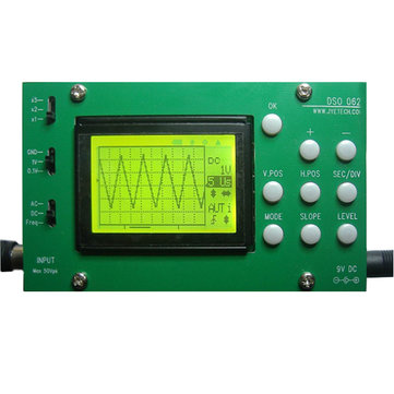 Original JYETech DSO062 DIY Digital Oscilloscope Unassembled Kit