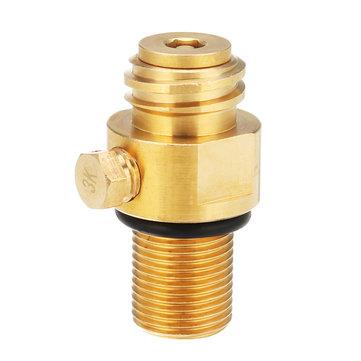 M18*1.5 Thread Replacement Valve CO2 Tank Brass Pin Valve For Soda Stream