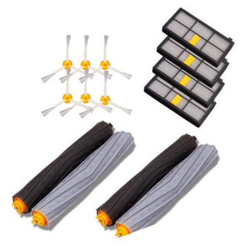 14pcs Replacement Brush Filter Kit for iRobot Roomba 800/900 Series Vacuum Cleaning Robots