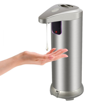 Sanitizer Second Generation Upgraded Version Touchless Automatic Soap Stainless Steel Dispenser