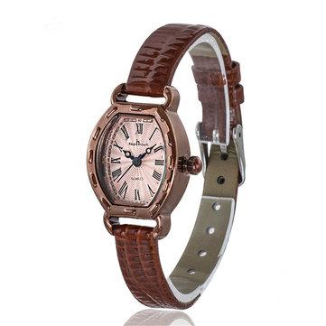 Deffrun Rectangle Dial Fashion Casual Women Wrist Watch