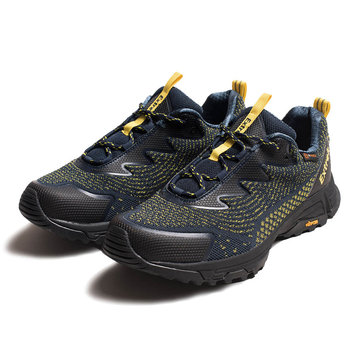 Xiaomi EXTREK Fly Knit Men Sneakers Impermeable Transpirable antideslizante Amortiguador Zapatillas Senderismo Ultralight Sport Zapatillas para correr