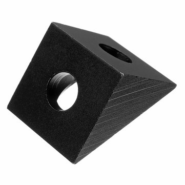 Aluminum Angle Corner Triangle Connector 90 Degree Angle Bracket Fit 20mm Profile Extruder For 3D Printer