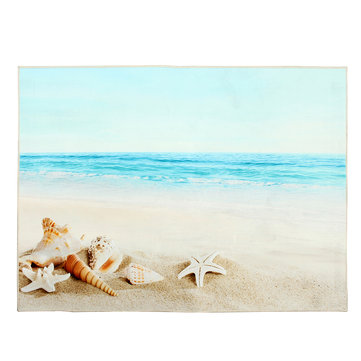 Beach Modern Area Floor Rug Carpet For Bedroom Living Room Mat Home Decoration