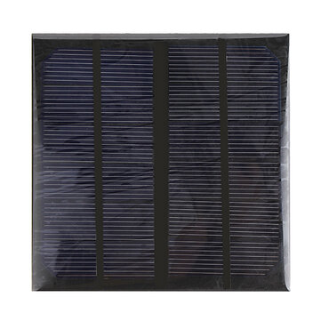 10pcs 3W 6V Epoxy Solar Panel Solar Cell Panel DIY Solar Charger Panel